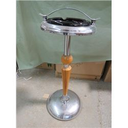 """SMOKE STAND WITH ASHTRAY (ANTIQUE) * 27"""" TALL*"""