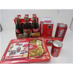 LOT OF 6 COLLECTIBLE COKE ITEMS