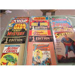 LOT OF COMICS (12 ISSUES SPECIAL COMICS) *SUPER HEROES*