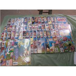 LOT OF 50 COMICS ( GROO THE WANDERER)