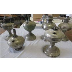 LOT OF 6 LAMPS (ALLADIN, RAYO, BTH)