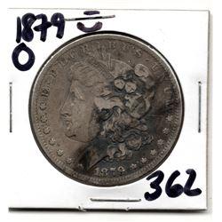 1879 O MORGAN DOLLAR