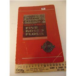 VINTAGE FIVE ROSES COOK BOOK
