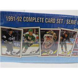 LOT OF 528  HOCKEY CARDS (O-PEE-CHEE)  *SEALED, 1991-92-MIXED TEAMS*