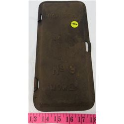 TIN MOWER LID (IHC) *NO. 9*