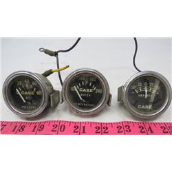 LOT OF 3 CASE GAUGES