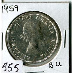 SILVER DOLLAR (CANADA) * 1959*