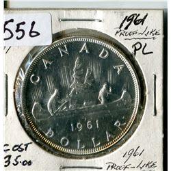 SILVER DOLLAR (CANADA) * 1961*