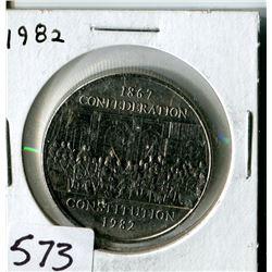 DOLLAR (CANADA) * 1982*
