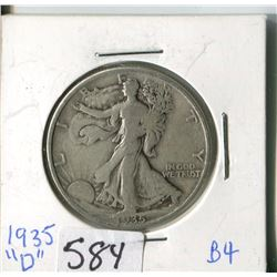 FIFTY CENT COIN (USA) * 1935D*