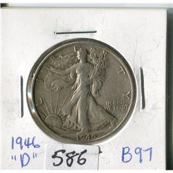 FIFTY CENT COIN (USA) * 1946D*