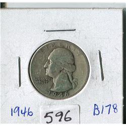 TWENTY FIVE CENT COIN (USA) *1946*