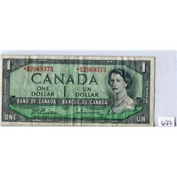 TWO DOLLAR REPLACEMENT NOTE (BANK OF CANADA) *1954*
