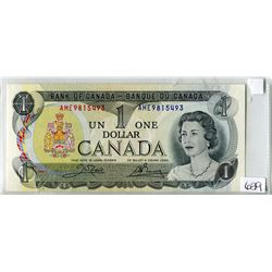 ONE DOLLAR REPLACEMENT NOTE (BANK OF CANADA) *1973*
