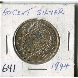 FIFTY CENT COIN ( CANADA) * 1944*