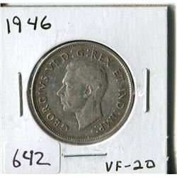 FIFTY CENT COIN ( CANADA) * 1946*
