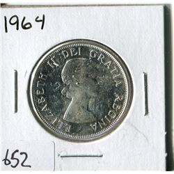 FIFTY CENT COIN ( CANADA) * 1964*