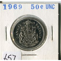 FIFTY CENT COIN ( CANADA) * 1969*