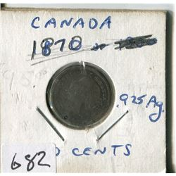 CANADA TEN CENT COIN (1870)