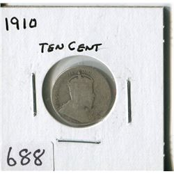 CANADA TEN CENT COIN (1910)