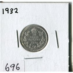 CANADA TEN CENT COIN (1932)