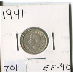 CANADA TEN CENT COIN (1941)