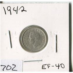 CANADA TEN CENT COIN (1942)