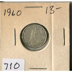 CANADA TEN CENT COIN (1960)