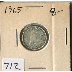 CANADA TEN CENT COIN (1965)