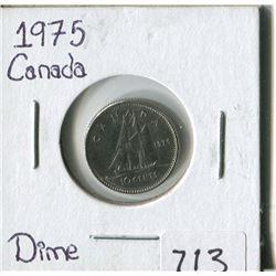 CANADA TEN CENT COIN (1975)