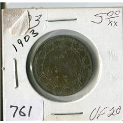 CANADA ONE CENT COIN (1903)