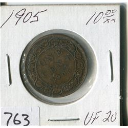 CANADA ONE CENT COIN (1905)