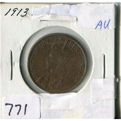 CANADA ONE CENT COIN (1913)