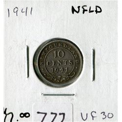 N.F.L. TEN CENT COIN (1941)