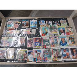 LARGE LOT OF ASSORTED BASEBALL CARDS  (TOPPS, PANNINI, ETC..)