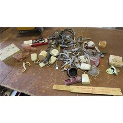 LOT OF JUNK DRAWER ITEMS (VARIOUS)