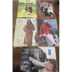 LOT OF SEARS CATALOGS (1978 SPRING & SUMMER, FALL & WINTER) *1980 FALL & WINTER* (1981 SPRING & SUMM