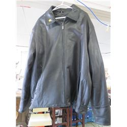 LEATHER JACKET (MEN'S) *BOUTIQUE OF LEATHERS* (SIZE 46)