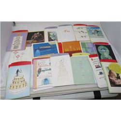 LOT OF ASSORTED GREETING CARDS (N.O.S.)