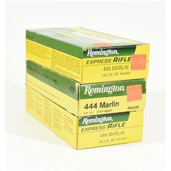 60 Rnds Remington 444 Marlin 240grn SP