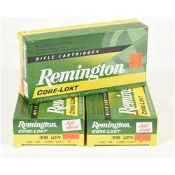 60 Rnds Remington 308 Win 180grn SP