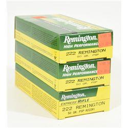 60 Rnds Remington 222 Rem 50grn PSP