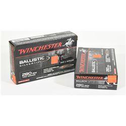 40 Rnds Winchester 280 Rem 140grn Polymer Tip