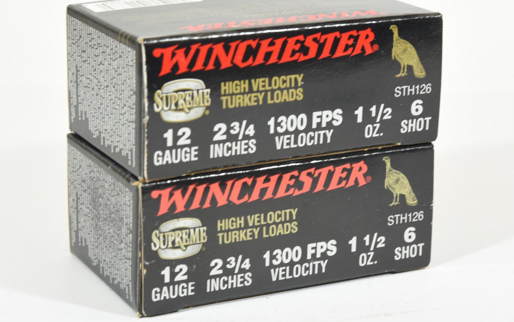 20 Rnds Winchester 12Ga x 2 3/4