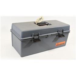 Unknown Gun Boot and Plastic Ammo Box