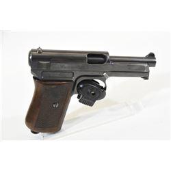 Mauser 1910 Handgun