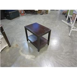 MODERN 2 TIER END TABLE