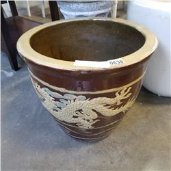 LARGE CERAMIC PLANTER