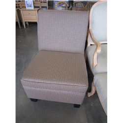 MODERN BEIGE ACCENT CHAIR