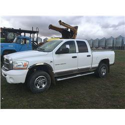 2005 Dodge Ram 2500 Diesel quad cab truck. SN 3D7KS28C46G257511